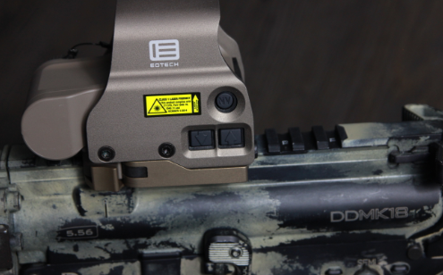 eotech exps 3 on mk18 top rail