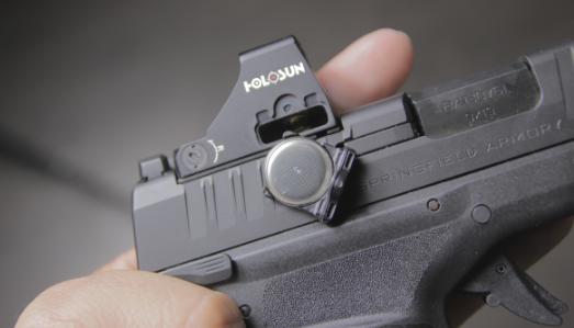 holosun 507k x2 battery removed