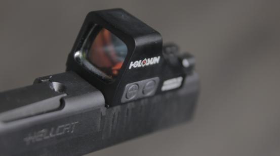holosun 507k x2 on handgun slide