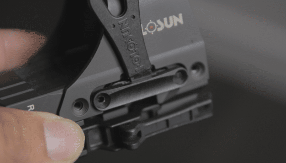 holosun 510c battery tray access