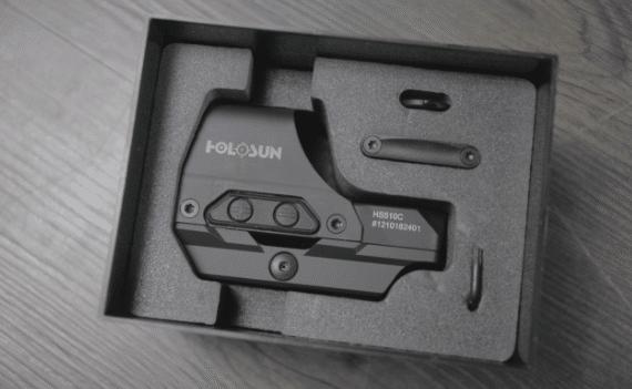 holosun 510c unboxing