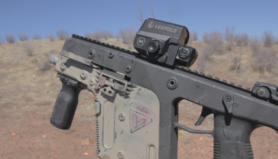 kriss vector with leupold lco