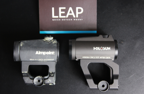 scalarworks leap mount holosun aimpoint micro