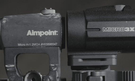 vortex micro 3x and aimpoint micro h1