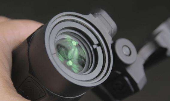 vortex micro 3x front lens