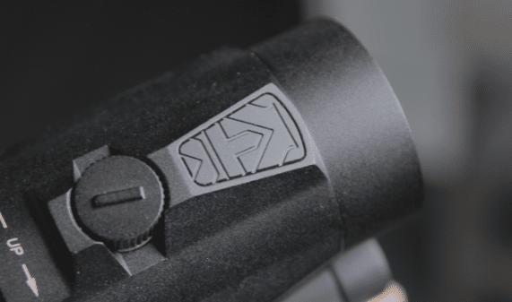 vortex micro 3x logo on top