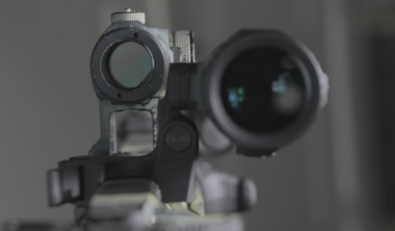 vortex micro 3x on mk18 with aimpoint micro h1