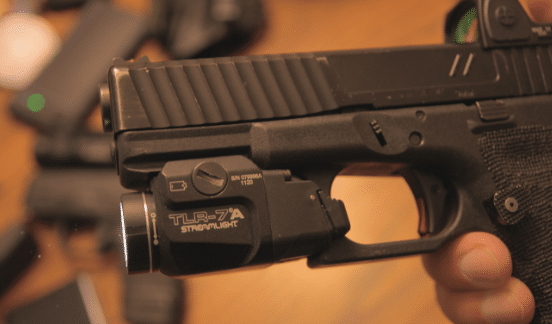 zev glock 19 with streamlight tlr 7a weapon light