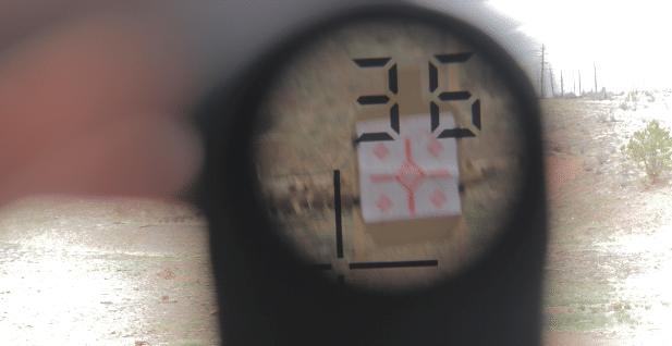 36 yard zero laser range finder