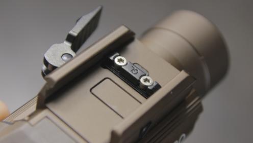 Olight PL PRO glock mount slot key