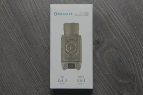 Olight PL Pro packaging