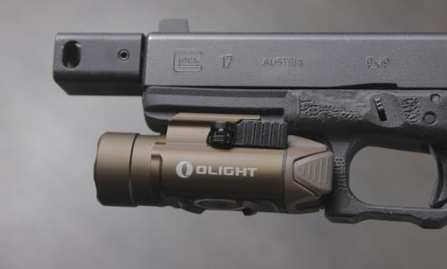 Olight pl pro on glock 17