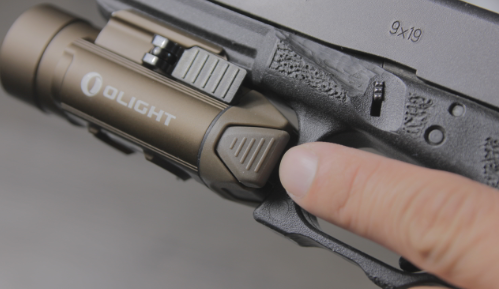Olight pl pro valyrie on glock 17