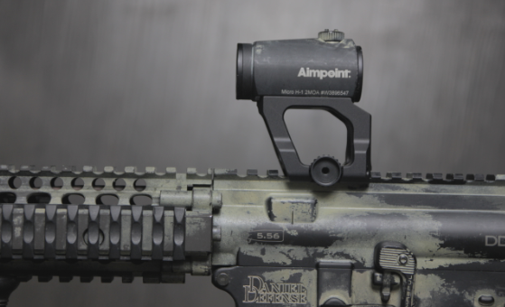 mk18 with aimpoint micro h1
