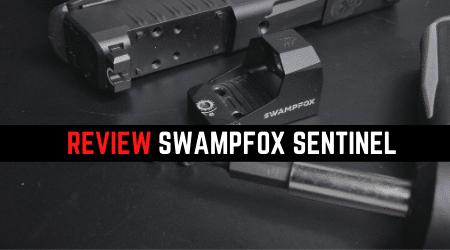 Read more about the article Review Swampfox Sentinel Subcompact Red Dot Sight