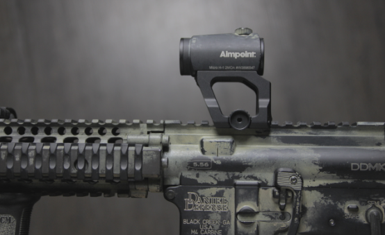 scalarworks aimpoint micro on mk18