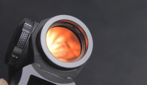 sig romeo5 front lens