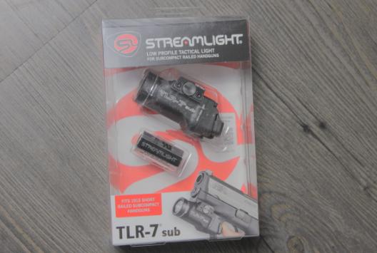streamlight TLR 7 Sub box