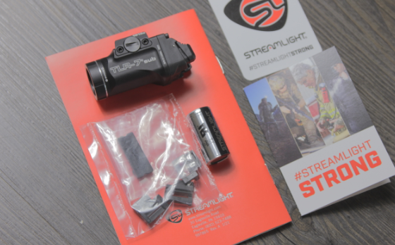 streamlight TLR 7 sub unboxing