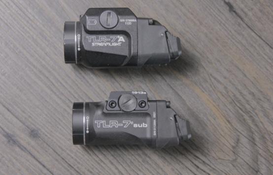 streamlight tlr 7 A vs sub