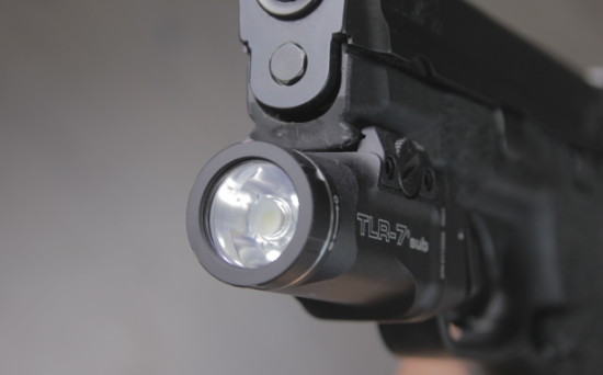 streamlight tlr 7 sub front side view