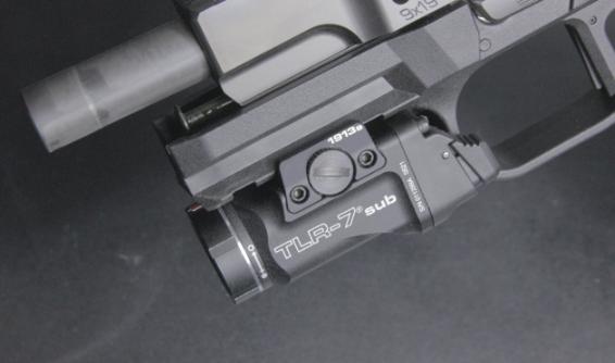streamlight tlr 7 sub on Fn 509 LS EDGE