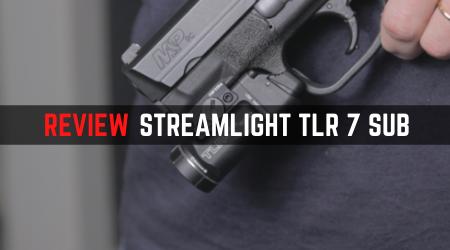 Review Streamlight TLR 7 Sub Pistol Light [First Impression]