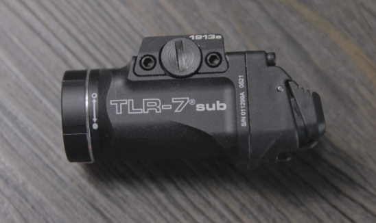 streamlight tlr 7 sub sideview
