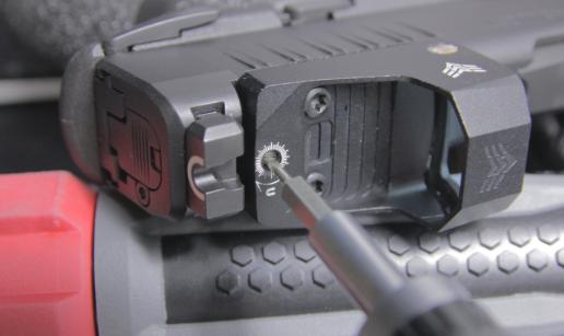 swampfox red dot sentinel moa adjustment screw driver