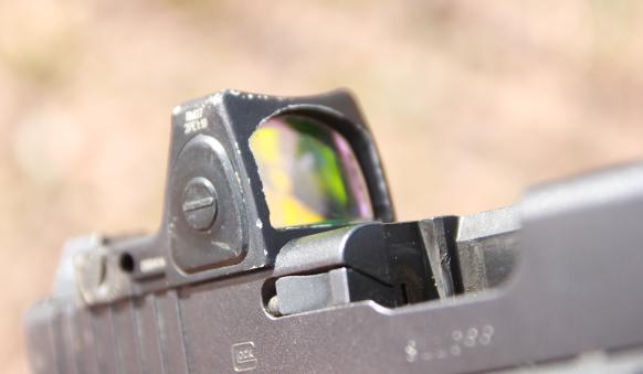 trijicon RMR RM07 on glock 17