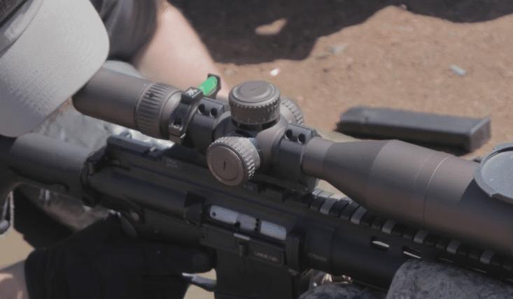 vortex razor HD scope turrets