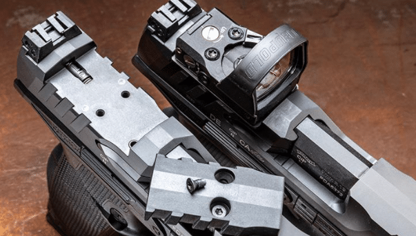walther pdp optic plates