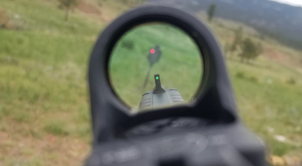 front sight height
