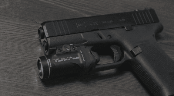 g43x with streamlight tlr 7 sub
