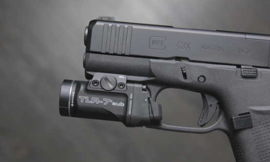 glock 43x with streamlight tlr 7 sub