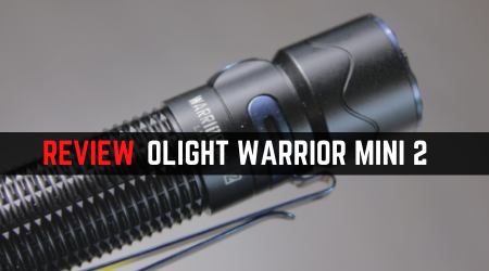 Read more about the article Review Olight Warrior Mini 2 Flashlight [NEW Proximity Sensor]
