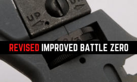 Learn How (Revised) Improved Battlesight Zero Works [The Old School]