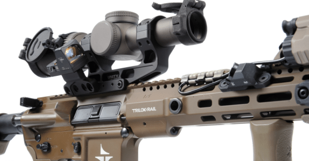 trijicon rmr on unity tactical FAST mount