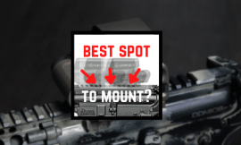 Where To Mount Red Dot On AR Rifles [4 Favorite Spots]