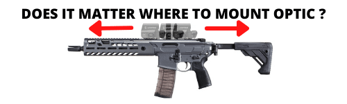 does it matter where to mount optic on ar