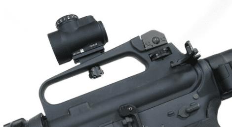 m16 carrying handle optic mount