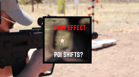 Read more about the article Shooting Canted – Change In Point Of Impact Trajectory? [45 & 90 Degs]