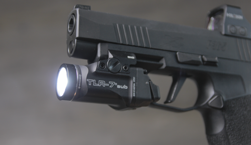 p365 with streamlight tlr 7 sub light
