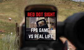 How Red Dot Sights Really Look & Feel In Real Life VS FPS Games