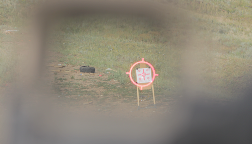 shooting up right position eotech