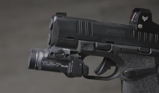 streamlight tlr 7 sub on hellcat 9mm pistol