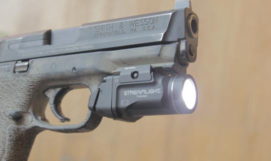 streamlight tlr 7 sub on mp 9mm pistol
