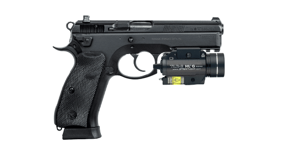 CZ 75 with streamlight tlr 2 hl g