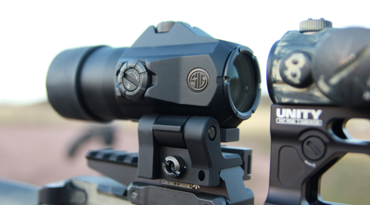 aimpoint micro with sig juliet 4 magnifier