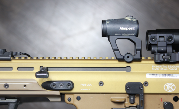 fn scar 17 with aimpoint micro
